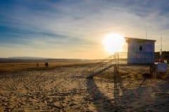 Salvavidas House de la playa de Essex imagen de archivo libre de regalías