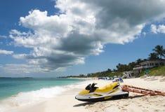 Salvavidas Transportation de Bahamas Foto de archivo libre de regalías