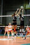 Salve - Volleyball alles Stern-Spiel 2008 Stockfotografie
