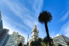 Salvedad de Palacio en Montevideo foto de archivo