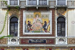 Salviati Palace Venice Royalty Free Stock Photography