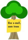 Salvo gli alberi Fotografie Stock Libere da Diritti