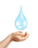 Salvo il concetto dell'acqua Fotografia Stock Libera da Diritti