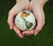 Salvo il mondo. Fotografie Stock Libere da Diritti