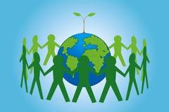 Salvo il nostro pianeta Immagini Stock