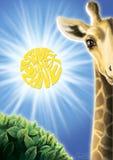 Salvo il pianeta illustrazione di stock