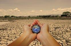 Salvo la terra Immagine Stock