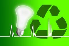 Salvo potenza ambientale Fotografia Stock