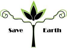 Salvo terra Immagine Stock Libera da Diritti