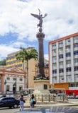 Salwador, Brazylia, architektura Kolumna bogini Nike zdjęcia stock
