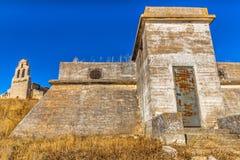Salwador bunkier i kościół Obraz Stock
