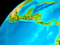 Salwador od przestrzeni Fotografia Stock
