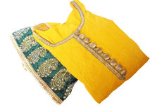 Salwar kameez. Is a traditional outfit of punjabi girls in india Stock Photography