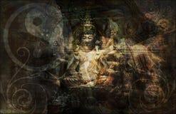 salwowanie duchowość royalty ilustracja