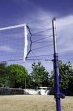 Salwy piłki sąd. Obrazy Royalty Free