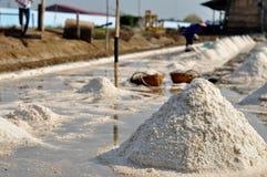 Salz, das Thailand bewirtschaftet Stockfotografie