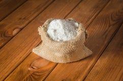 Salz in der Tasche Stockfotos