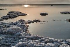 Salz des Toten Meers stockfoto