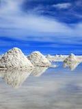 Salz-Ebenen, Uyuni, Boliva Stockbilder