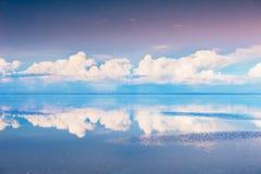 Salz flaches Salar de Uyuni, Bolivien lizenzfreie stockfotografie