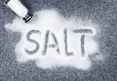 Salz lief Rüttler über Stockfotos