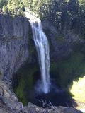 Salz-Nebenfluss fällt in Oregon Lizenzfreies Stockfoto