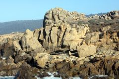 Salz-Punkt Kalifornien Stockbild