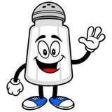 Salz Shaker Waving lizenzfreie abbildung