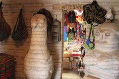 Salz-Skulpturen, Uyuni Bolivien Stockbild