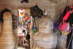 Salz-Skulpturen, Uyuni Bolivien Stockfotografie