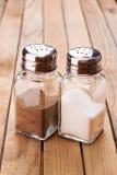 Salz und Pfeffer Lizenzfreie Stockfotografie
