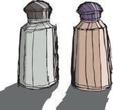 Salz und Pfeffer Stockbilder