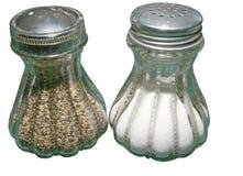 Salz und Pfeffer Stockfotos