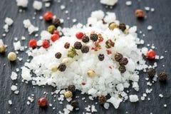 Salz und Pfeffer Lizenzfreies Stockbild