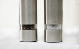 Salz-und Pfeffer-Schleifer Stockfoto