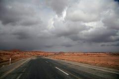Salz-Wüste Stockbild