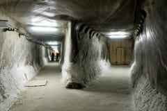 Salzbergwerk Stockbild