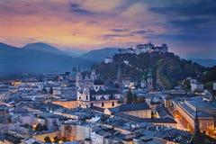 Salzbourg, Autriche Photo libre de droits