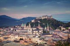 Salzbourg, Autriche Photos libres de droits