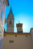 Salzbourg, Autriche - 1er mai 2017 : Vieux bâtiments dans la vieille ville Salzbourg photographie stock