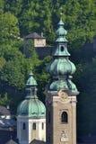 Salzburd towers Stock Photo