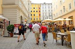 Salzburg, Áustria Imagem de Stock Royalty Free