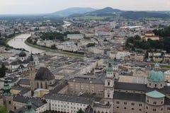 Salzburg, Áustria Fotos de Stock