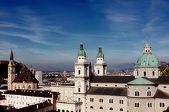Salzburg, Österreich Lizenzfreies Stockfoto