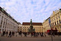 Salzburg in Österreich Stockbild