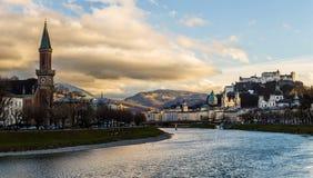 Salzburg Österreich lizenzfreies stockfoto