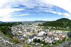 Salzburg Österreich lizenzfreies stockbild