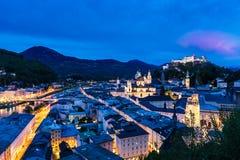Salzburg Österrike Fotografering för Bildbyråer