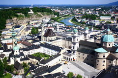 Salzburg. Austria's musical center Royalty Free Stock Photo