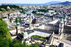 Salzburg. The musical and cultural center of Austria Royalty Free Stock Photo